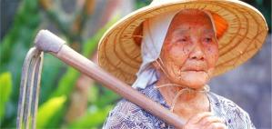 Okinawa's Ushi Okushima still gardening at age 109